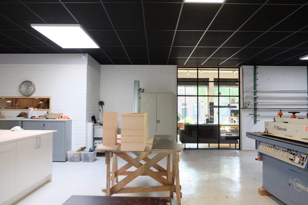 Frisfabriek werkruimte maatwerk meubels