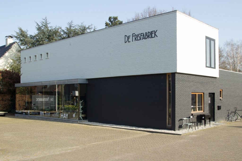 De Frisfabriek Buitenkant