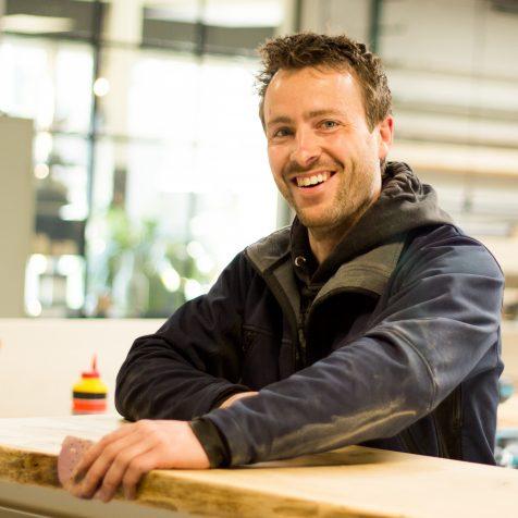 Ruud Beumers meubelmaker De Frisfabriek